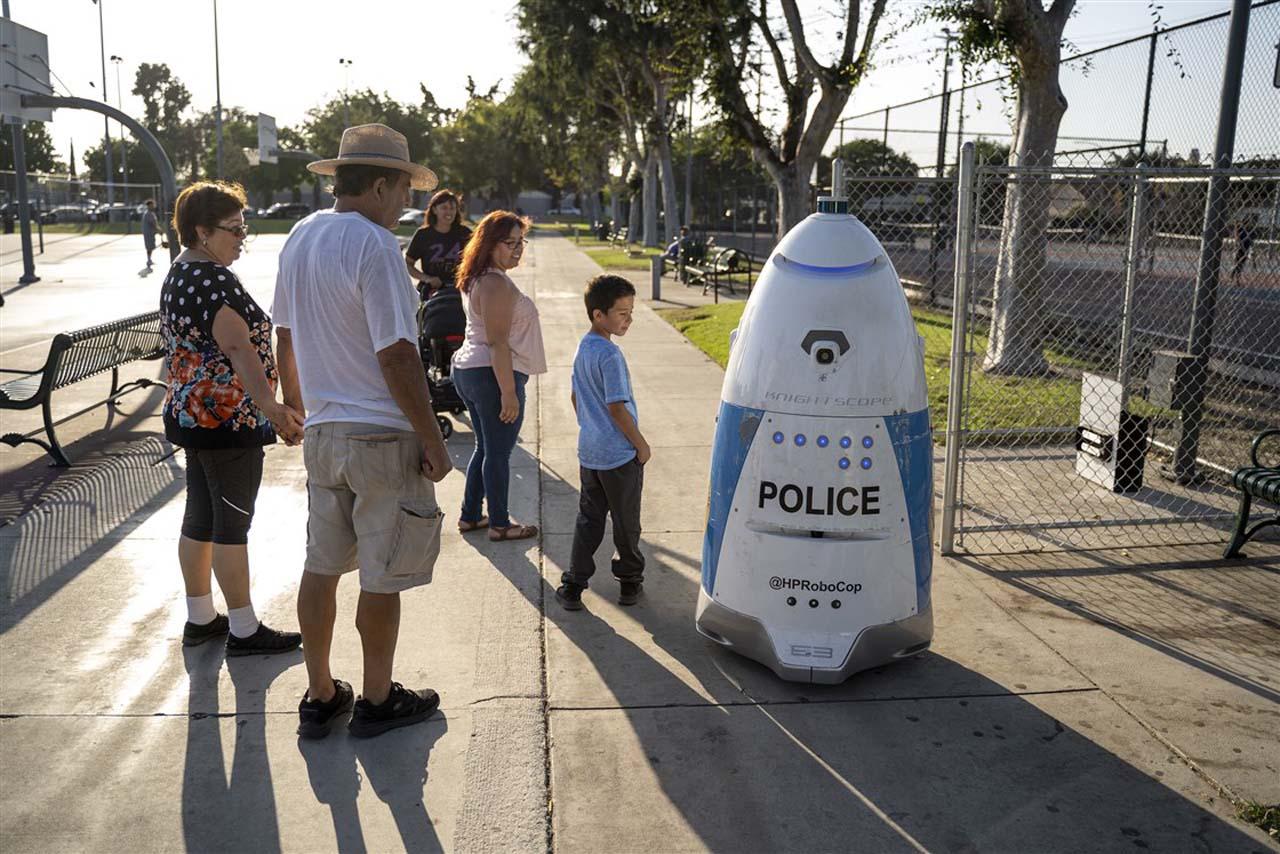 Police robot california 2