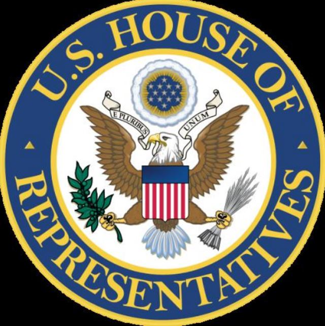 Seal United States House of Representatives (13 stars forming a Saturn Star, Roman Eagle)